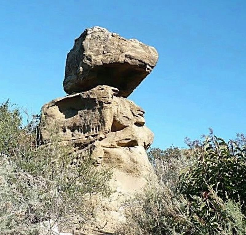 Lone Ranger Rock today image. Click for full size.