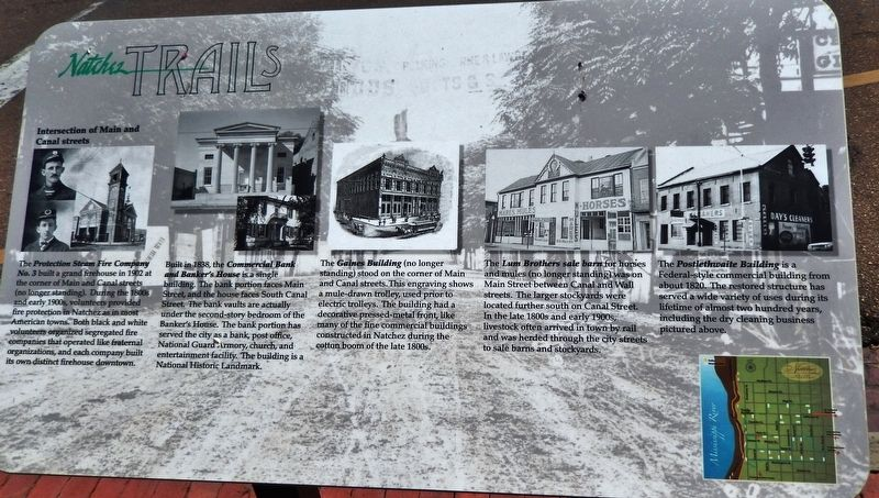 Intersection of Main and Canal Streets Marker image. Click for full size.