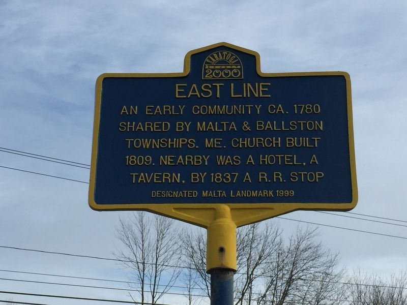 East Line Marker image. Click for full size.