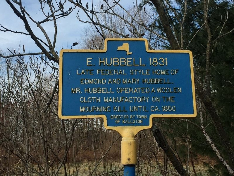 E. Hubbell 1831 Marker image. Click for full size.