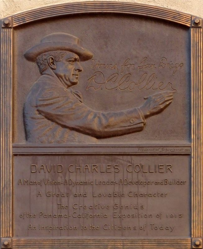 David Charles Collier Marker image. Click for full size.
