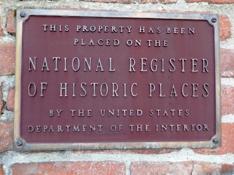 Texada: National Register of Historic Places plaque image. Click for full size.