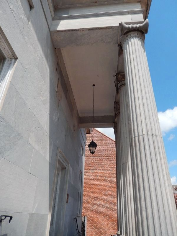 Commercial Bank Building (<i>front column detail</i>) image. Click for full size.