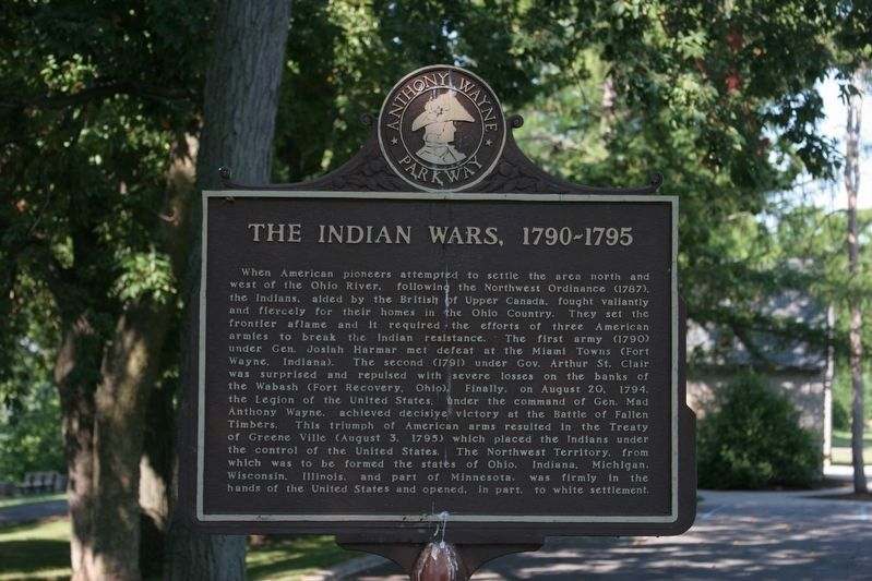 The Indian Wars, 1790-1795 image. Click for full size.