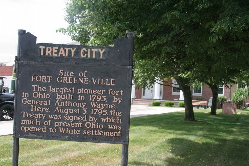 Fort Green-Ville Marker image. Click for full size.