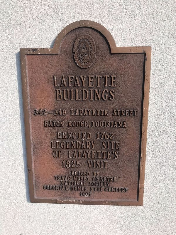 Lafayette Buildings Marker image. Click for full size.