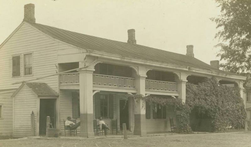 Clifton Park Village Hotel ca. 1890 image. Click for full size.