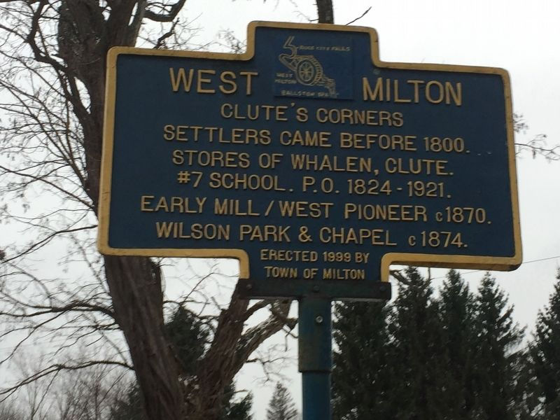 West Milton Marker image. Click for full size.