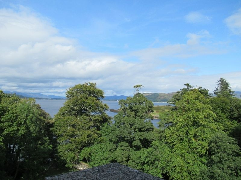 View from Dunstaffnage Castle image. Click for full size.
