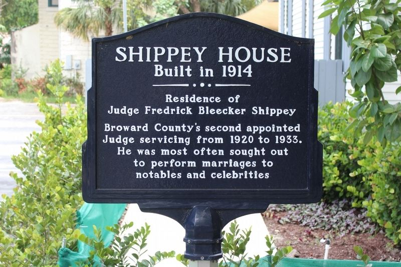 Shippey House Marker image. Click for full size.