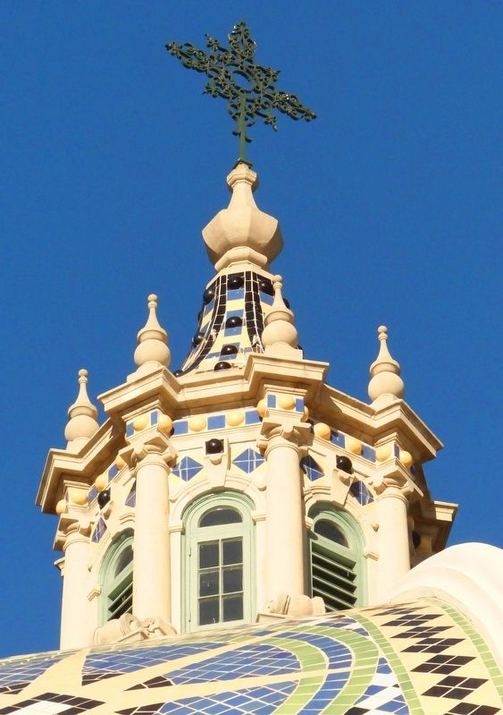 Cupola of California Building image. Click for full size.