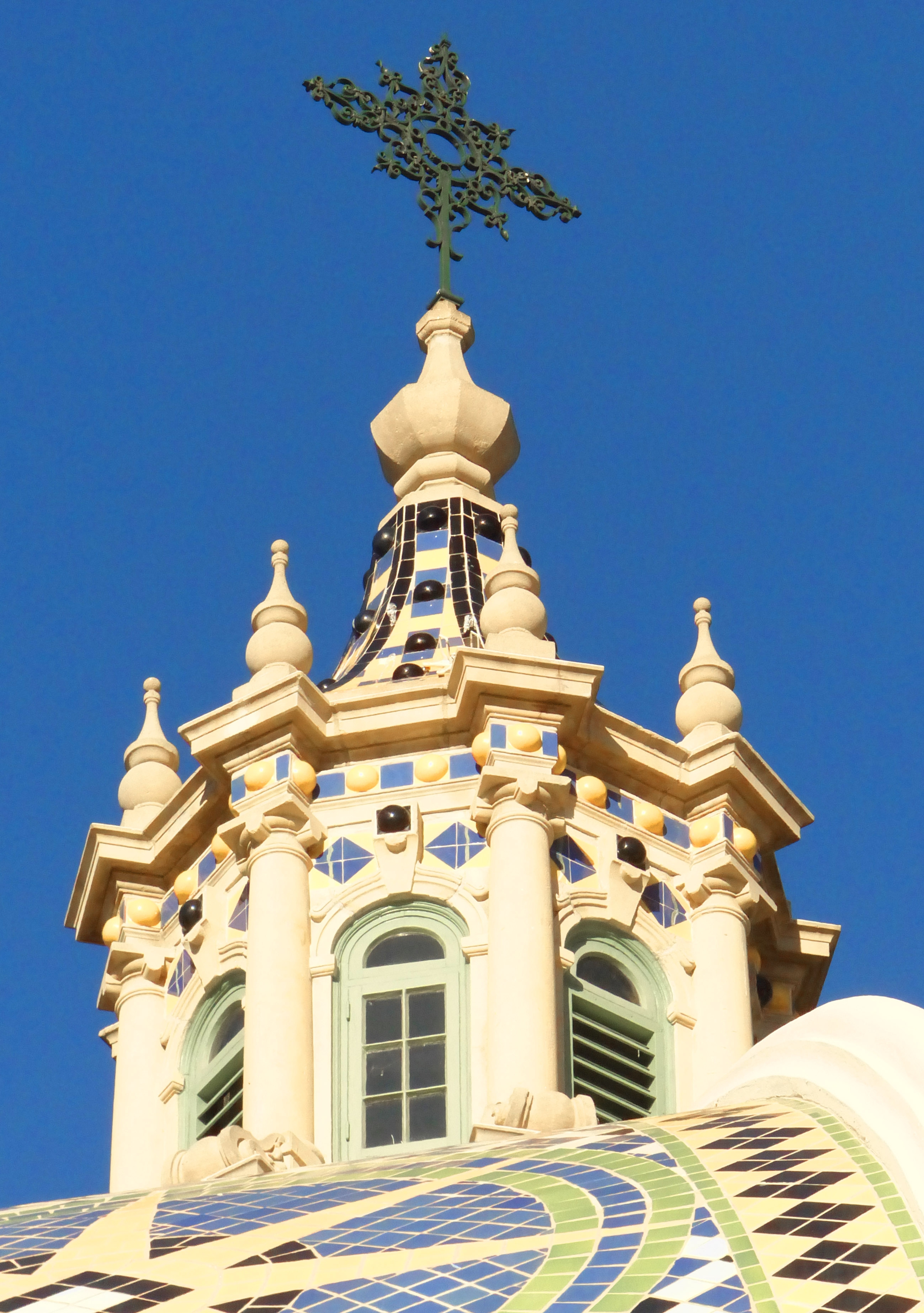 Cupola of California Building