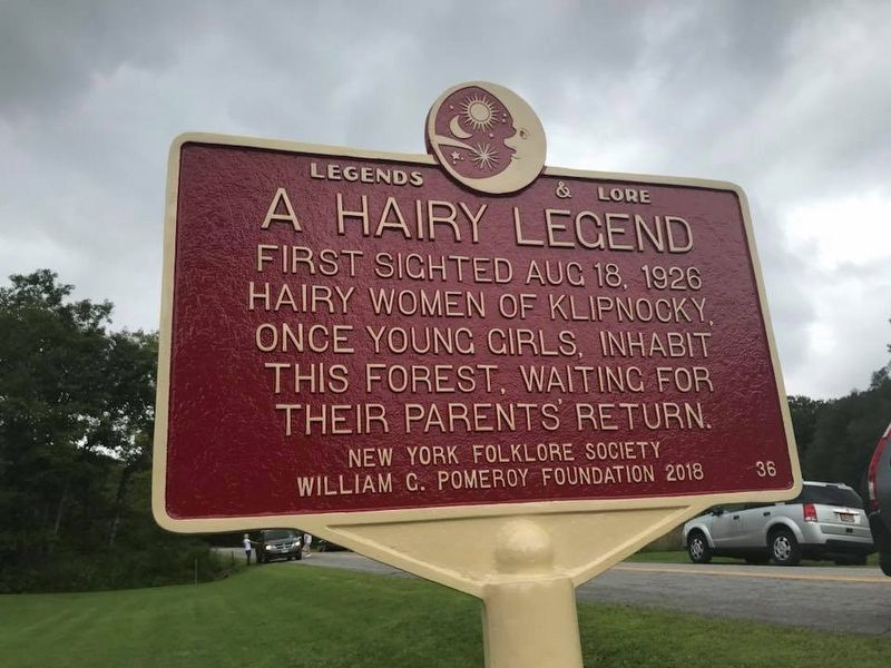 A Hairy Legend Marker image, Touch for more information