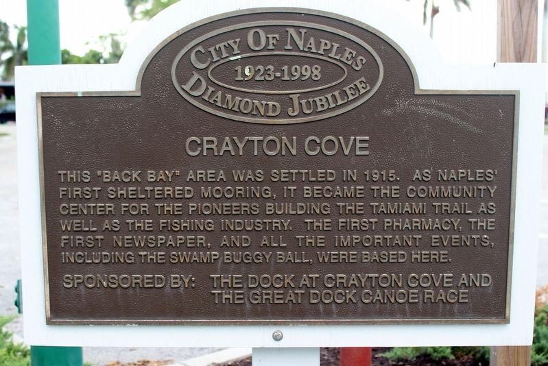 Crayton Cove Marker image. Click for full size.
