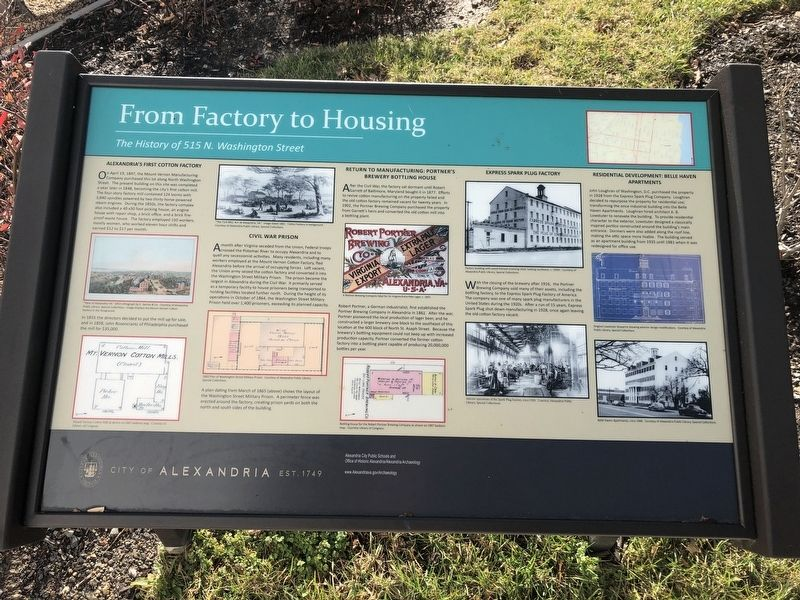 From Factory to Housing Marker image. Click for full size.