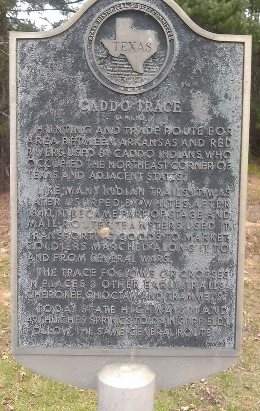 Caddo Trace Marker image. Click for full size.