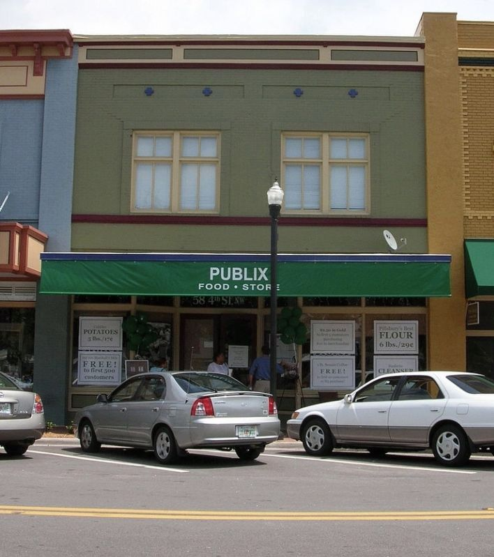 Original Publix Market early 2000's image. Click for full size.