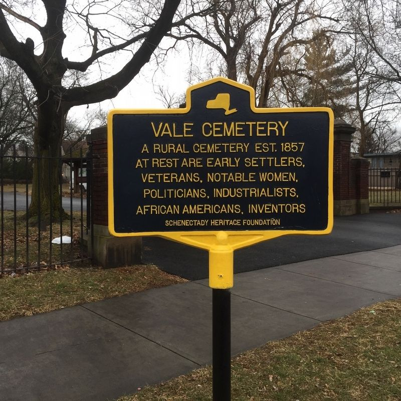 Vale Cemetery Marker image. Click for full size.