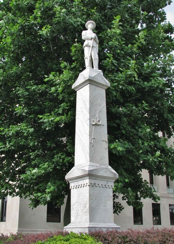 Weakley County Tennessee Confederate Monument image. Click for full size.