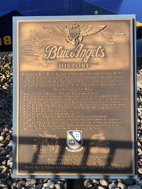 Blue Angels Marker image. Click for full size.