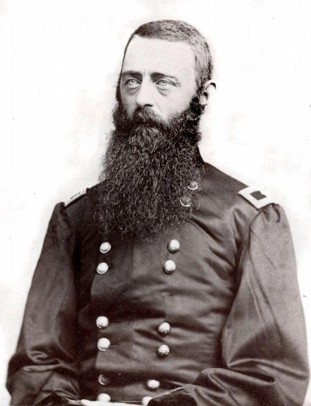 Major General David McMurtrie Gregg of the 8th Pennsylvania Cavalry Regiment image. Click for full size.