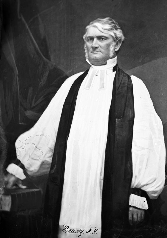 Gen. Leonidas Polk, C.S.A., Bishop of Louisiana image. Click for full size.