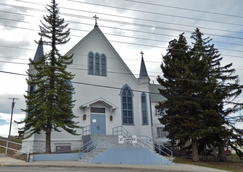 Saint Lawrence Church, Butte, Montana image. Click for full size.