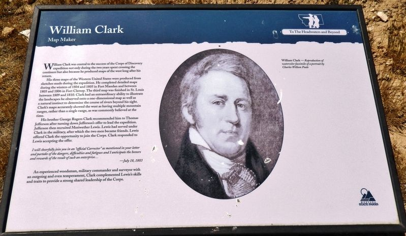 William Clark Marker image. Click for full size.