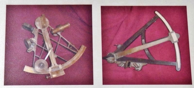 Marker detail: Sextant & Octant image. Click for full size.