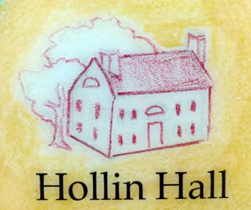 Hollin Hall<br>T.F. Mason&#39;s Childhood home<br>Burned 1824 image. Click for full size.