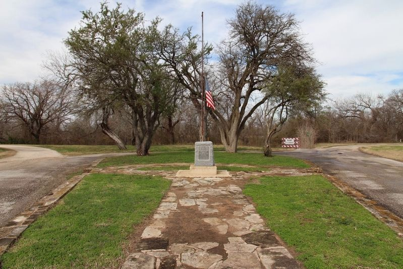 Here was Fired First Gun for Texas Independence Marker image. Click for full size.