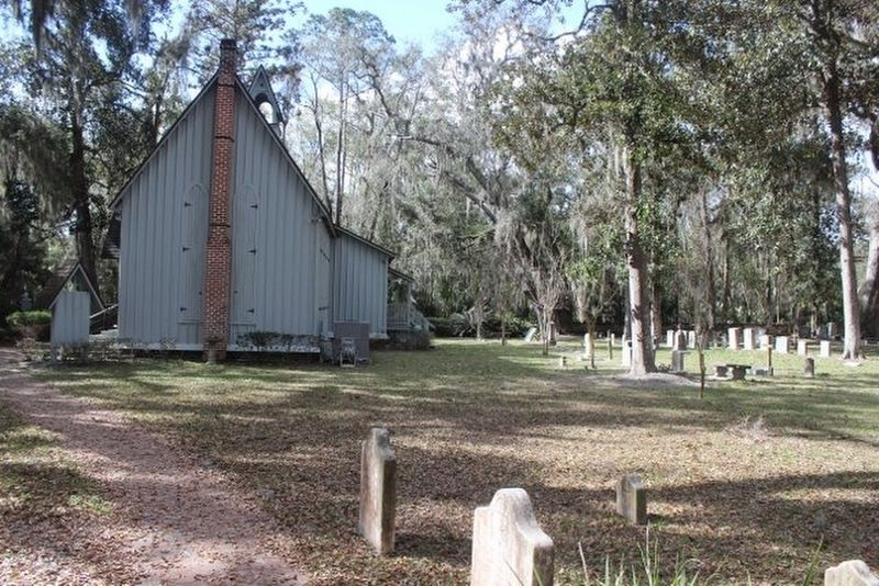 St. Margaret's Episcopal Church and Cemetery image. Click for full size.