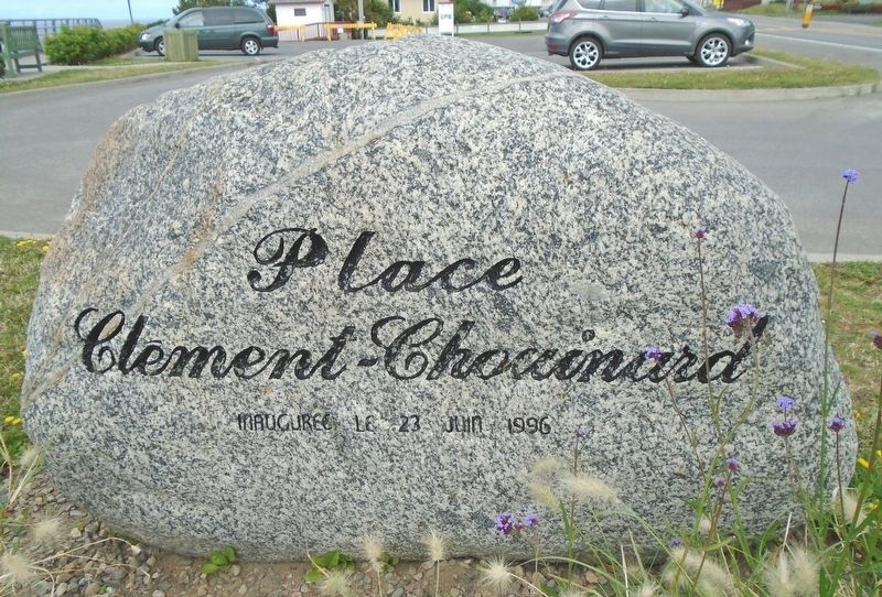 <i>Place Clément-Chouinard Plaza</i> Sign image. Click for full size.