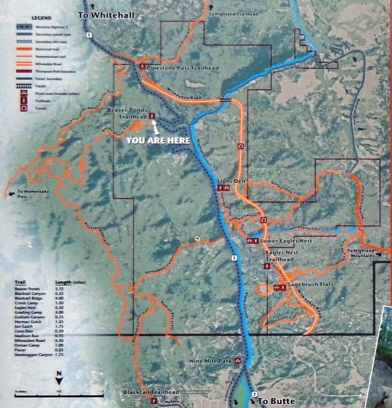 Marker detail: Trail map image. Click for full size.