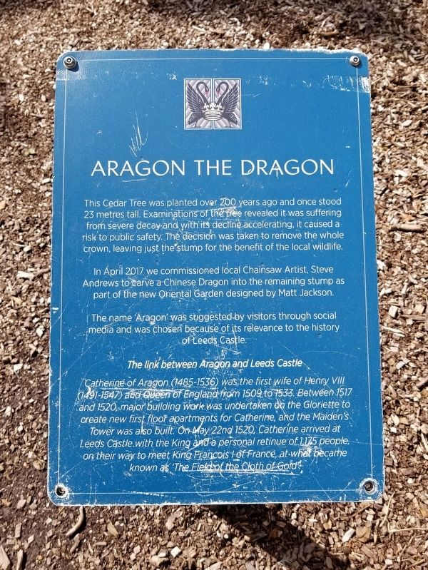 Aragon the Dragon Marker image. Click for full size.