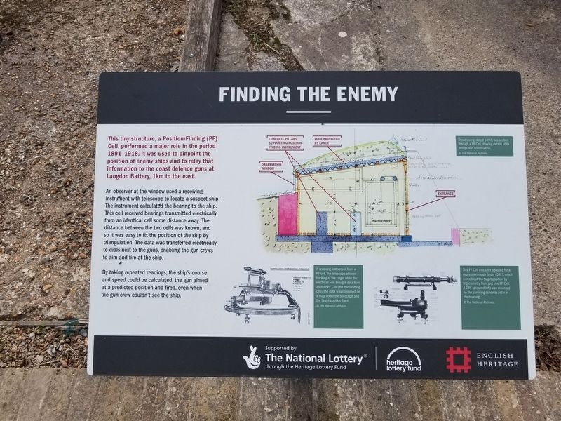 Finding the Enemy Marker image. Click for full size.
