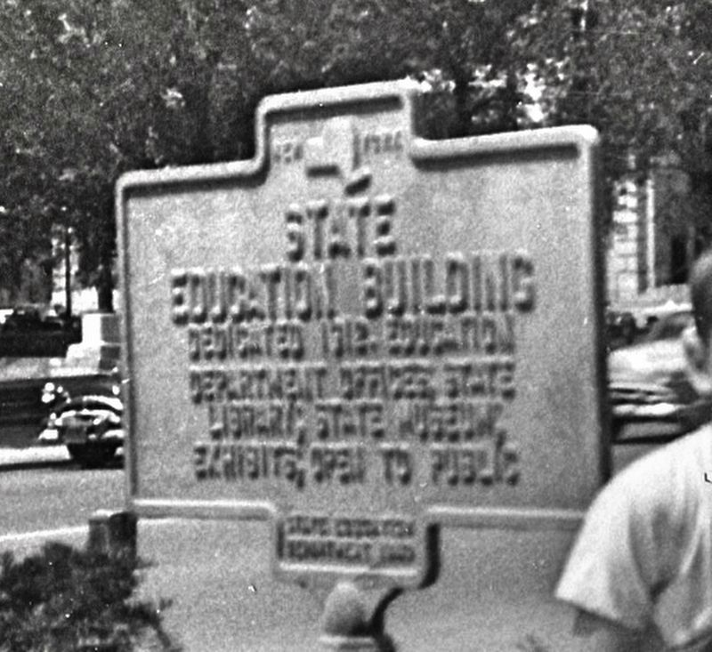 State Education Building Marker image. Click for full size.