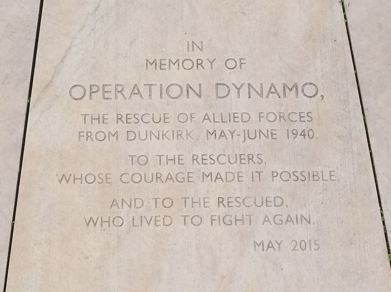 Operation Dynamo Marker image. Click for full size.