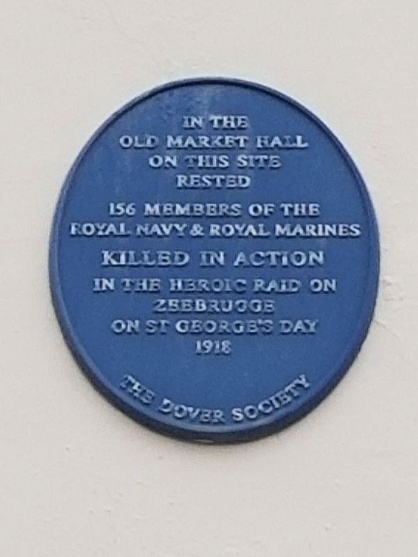 Old Market Hall Marker image. Click for full size.