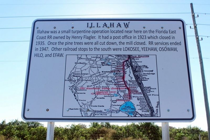 Illahaw Marker image. Click for full size.