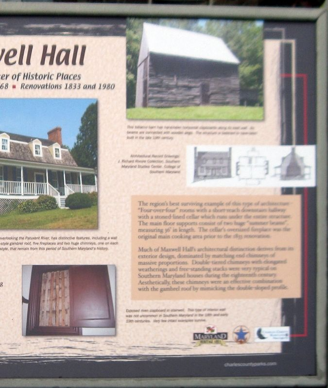 right half of the Maxwell Hall Marker image. Click for full size.