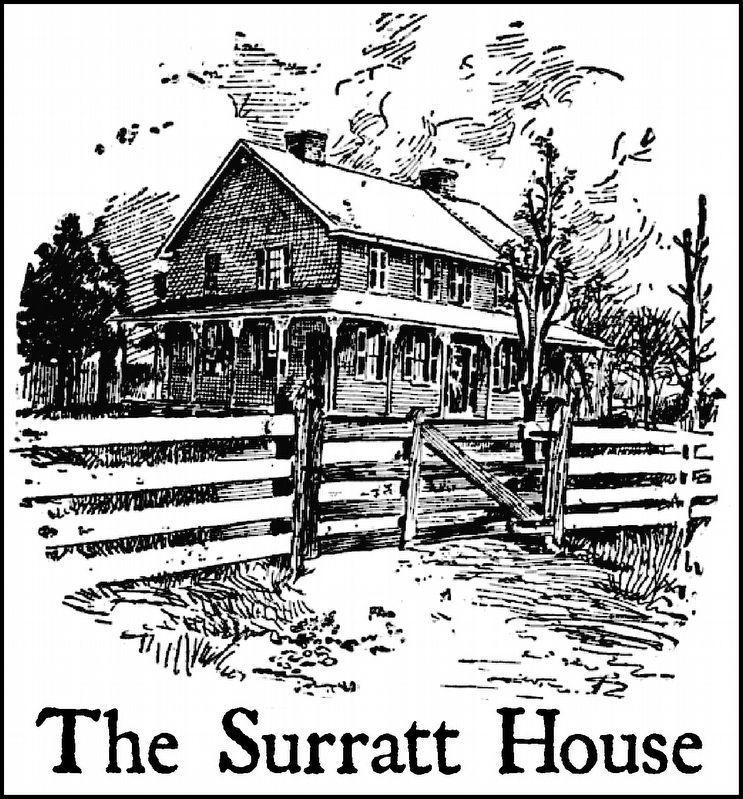 Surratt House image. Click for full size.