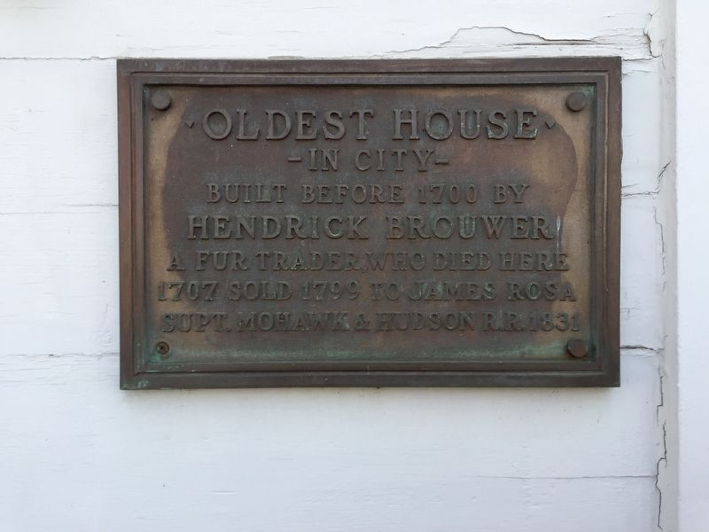 Oldest House Marker image. Click for full size.