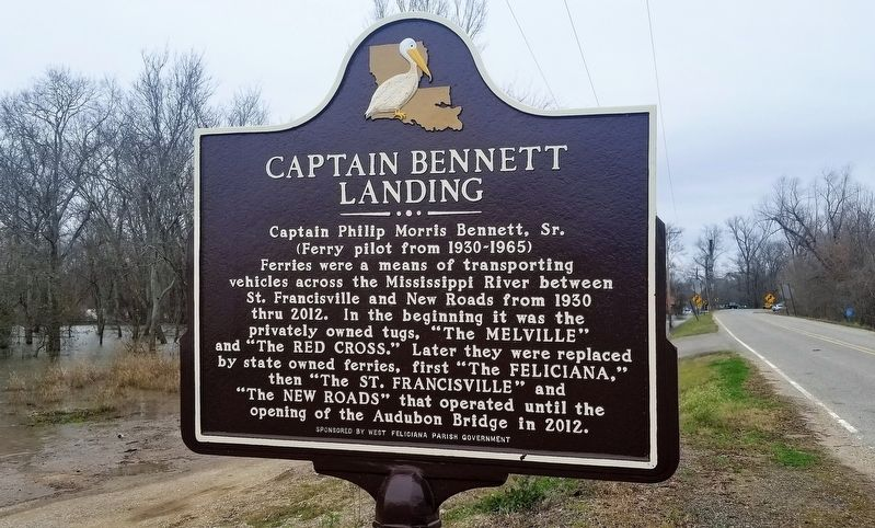 Captain Bennett Landing Marker image. Click for full size.