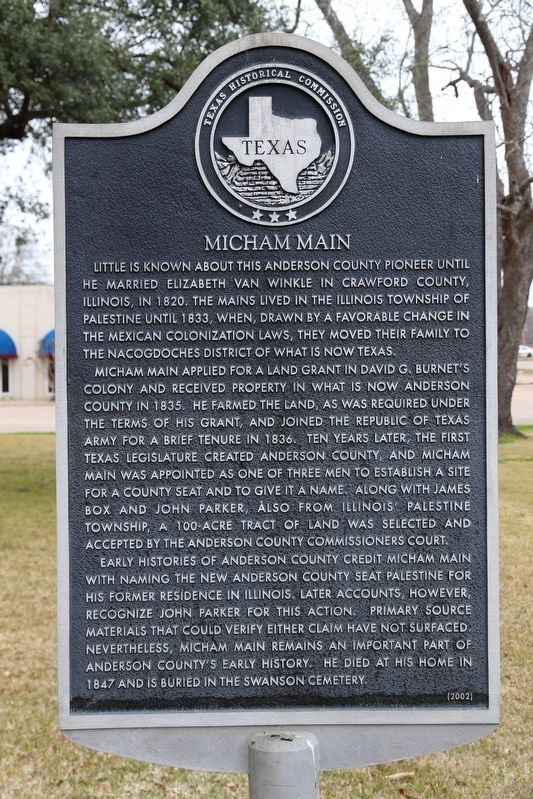 Micham Main Marker image. Click for full size.