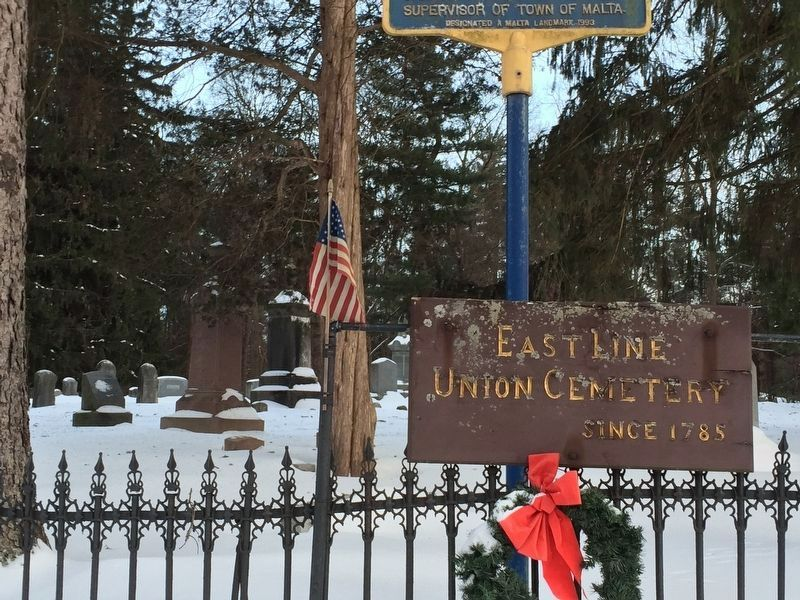 East Line Union Cemetery image. Click for full size.