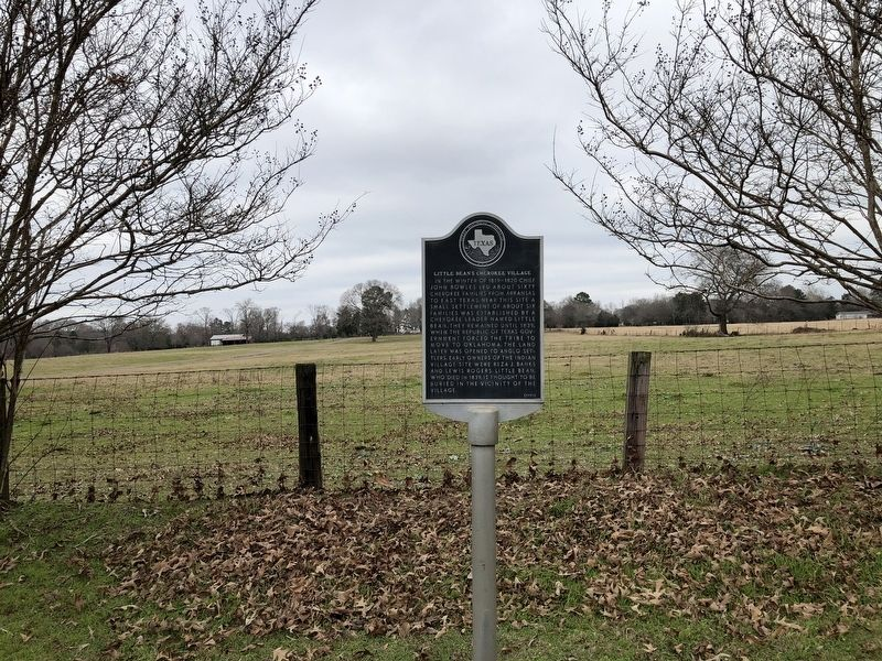 Little Bean's Cherokee Village Marker image. Click for full size.