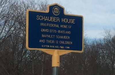 Schauber House Marker image. Click for full size.