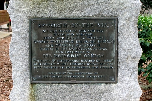 Epworth-By-The-Sea Marker