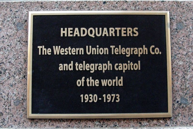 Headquarters Marker image. Click for full size.